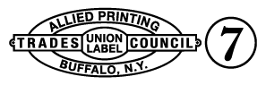 Delft Printing Trade Union Logo